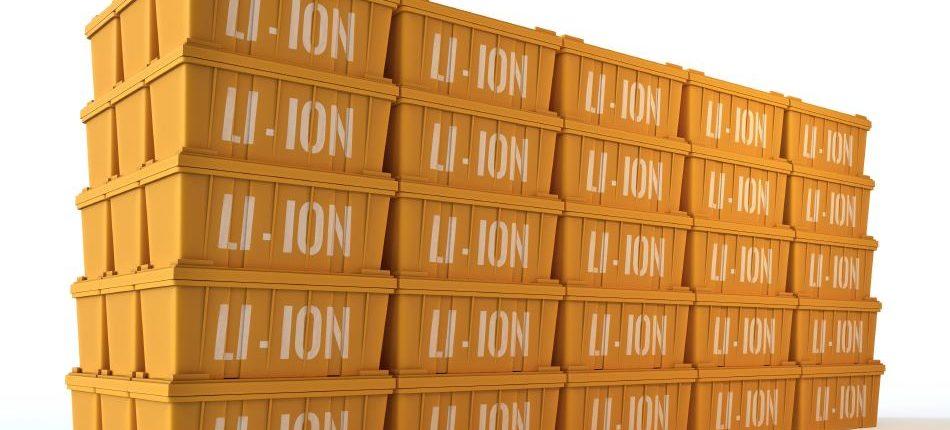 batería ion litio